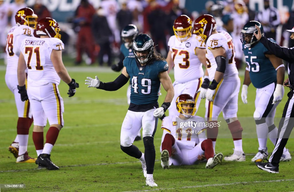 Washington Football Team v Philadelphia Eagles : News Photo