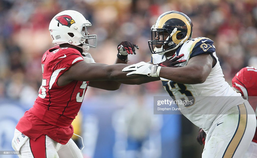 Arizona Cardinals v Los Angeles Rams : News Photo
