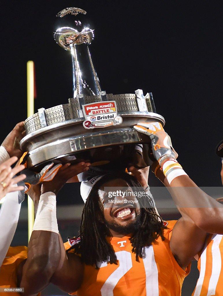 Virginia Tech v Tennessee : News Photo