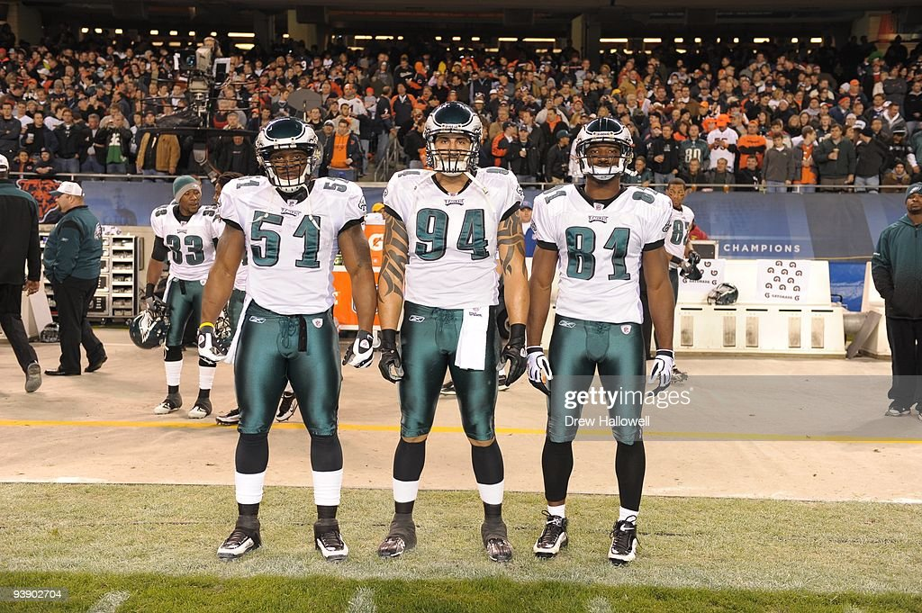 Philadelphia Eagles v Chicago Bears : Foto jornalística
