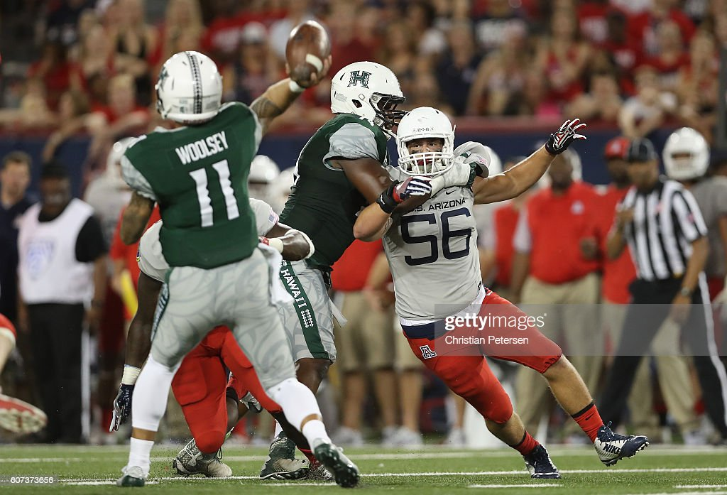 Hawaii v Arizona : News Photo