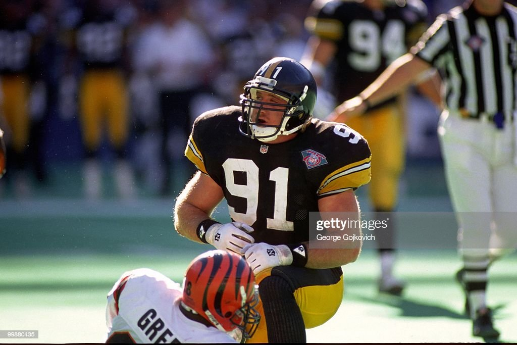 Steelers Kevin Greene : ニュース写真