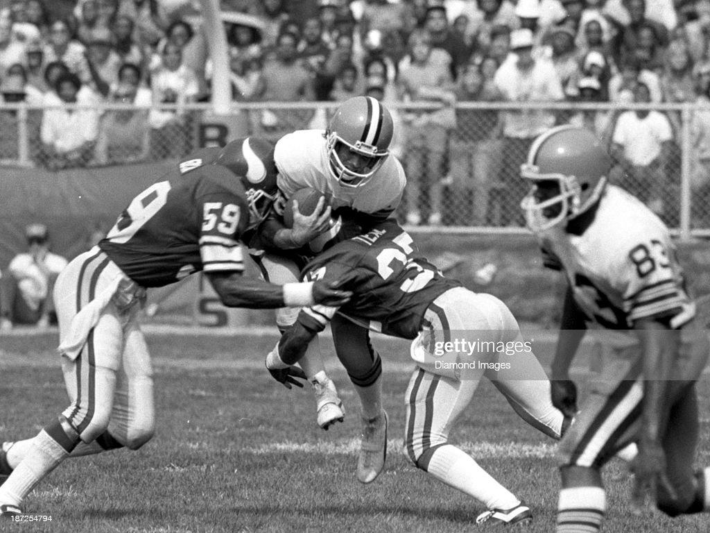 Minnesota Vikings v. Cleveland Browns : News Photo