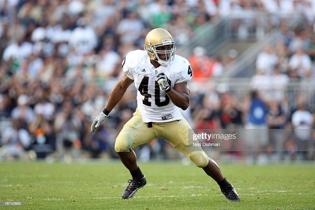 Notre Dame v Penn State : News Photo