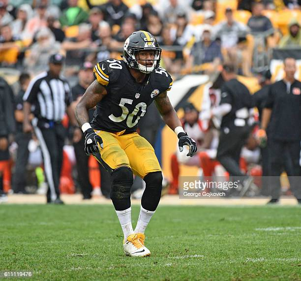 Linebacker Ryan Shazier of the Pittsburgh Steelers pursues the play during a game against the Cincinnati Bengals at Heinz Field on September 18 2016...