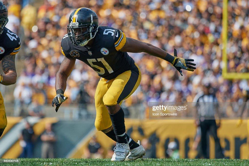 NFL: SEP 17 Vikings at Steelers : News Photo