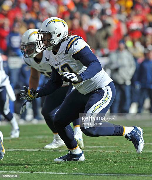 San Diego Chargers Defense: Tourek Williams Stock Photos And Pictures