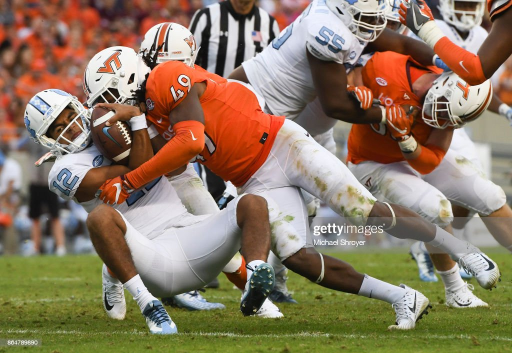 North Carolina v Virginia Tech : News Photo