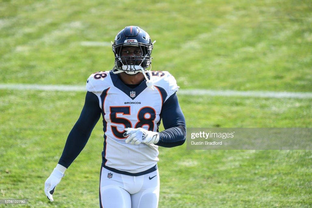 Denver Broncos Training Camp : News Photo