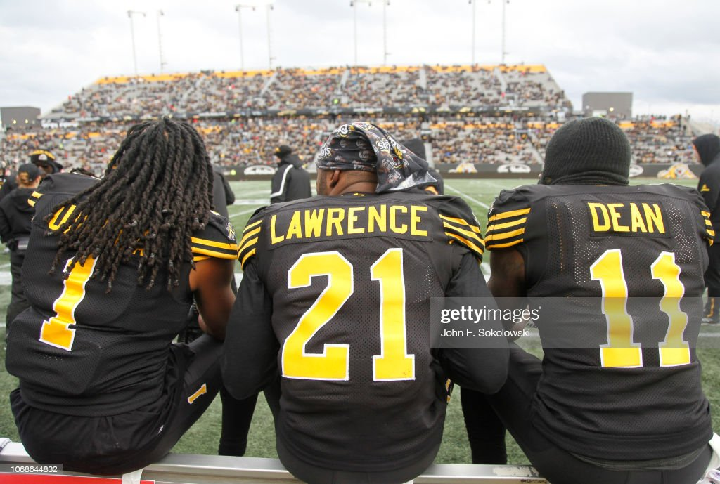 BC Lions v Hamilton Tiger-Cats : News Photo