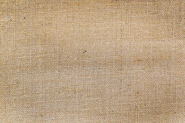 Linen Canvas Background Burlap Hessian