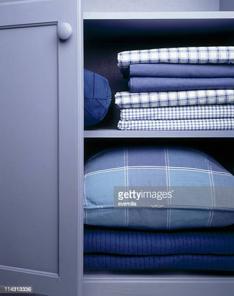 linen closet - neat stock pictures, royalty-free photos & images