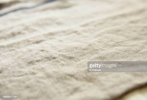 linen cloth,close up - linen stock photos and pictures