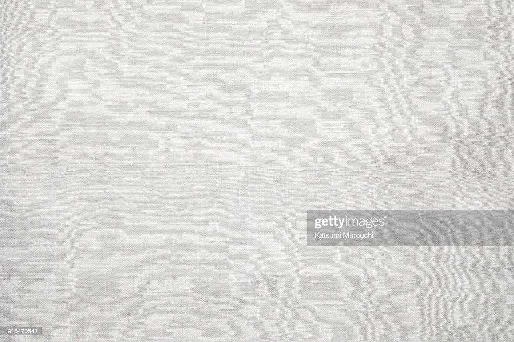 Linen fabric texture background : Stock Photo