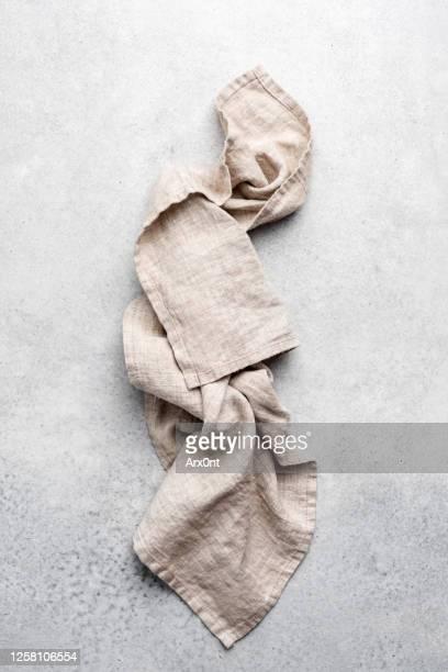linen kitchen textile - trapo de cocina fotografías e imágenes de stock