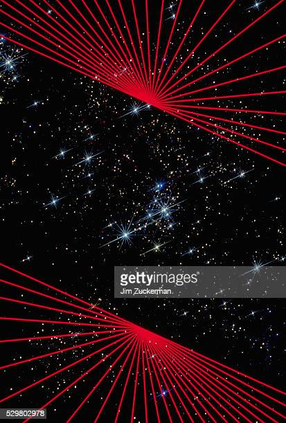lines and stars - parallel stock photos and pictures