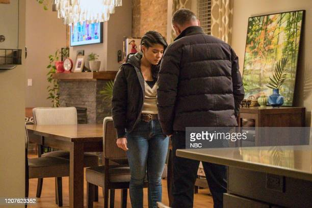 D Lines Episode 718 Pictured Lisseth Chavez as Vanessa Rojas Jason Beghe as Hank Voight