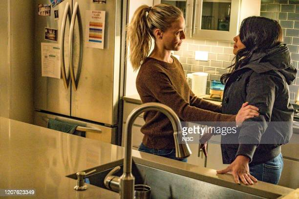 D Lines Episode 718 Pictured Tracy Spiridakos as Hailey Upton Lisseth Chavez as Vanessa Rojas