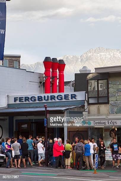 Lines form outside of the famous Fergburger