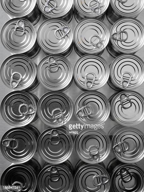 Lines of Tin Cans