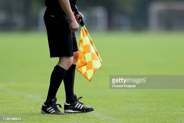 Linesman during the U15 Selection Tournament at Sport School Wedau on June 11, 2019 in Duisburg, Germany.