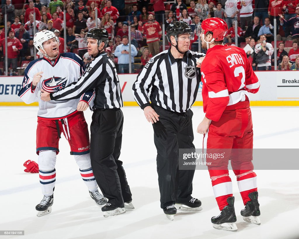 Columbus Blue Jackets v Detroit Red Wings