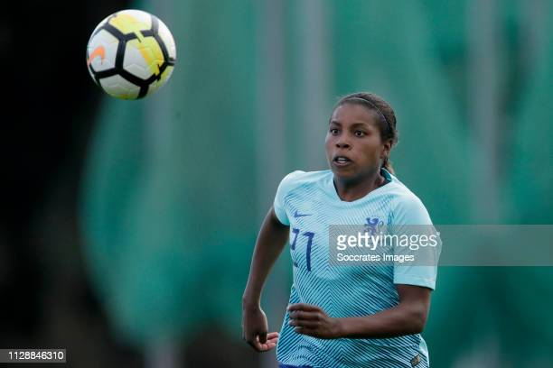 Lineth Beerensteyn of Holland Women during the Algarve Cup Women match between China PR v Holland at the Estadio Municipal de Albufeira on March 6,...