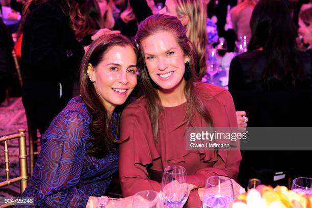 Linette Deluca and Jennifer Oken attends The Boys' Club of New York Ninth Annual Winter Luncheon on February 26 2018 in New York City