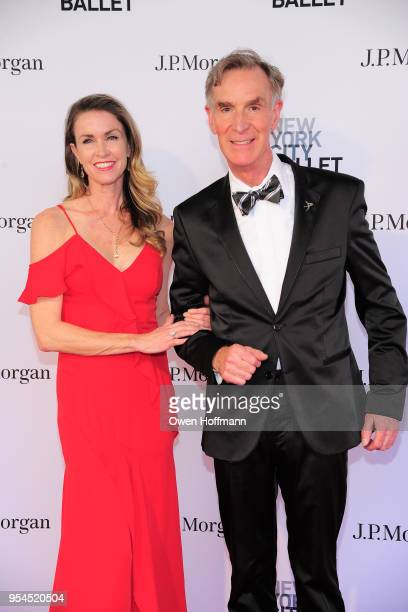 Linette Roe and Bill Nye attends New York City Ballet 2018 Spring Gala at David H Koch Theater Lincoln Center on May 3 2018 in New York City