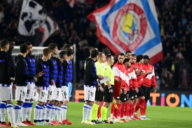 NLD: PSV Eindhoven v Real Sociedad: Group B - UEFA Europa League