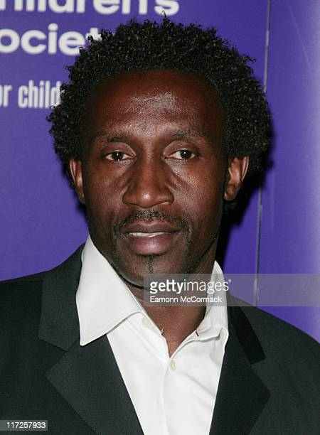 Linford Christie during The Children's Society Annual Ball May 16 2007 at Claridge's Hotel in London United Kingdom