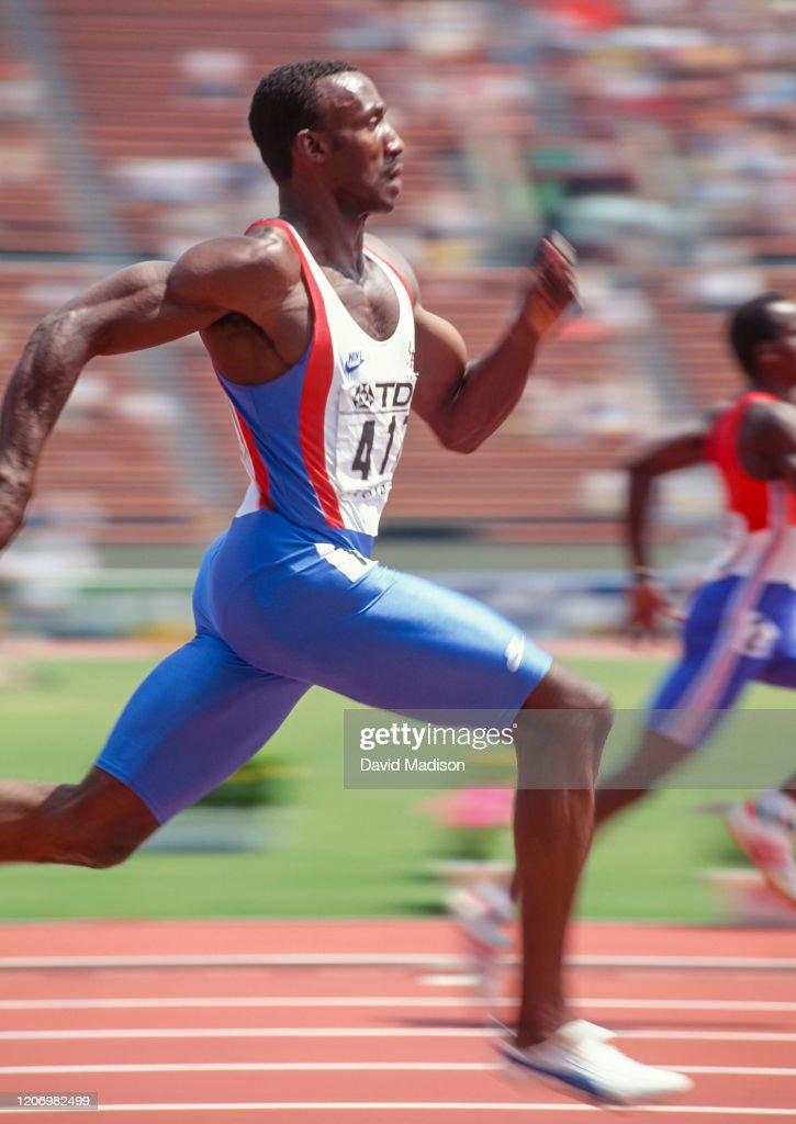 1991 IAAF World Championships - 200m : News Photo