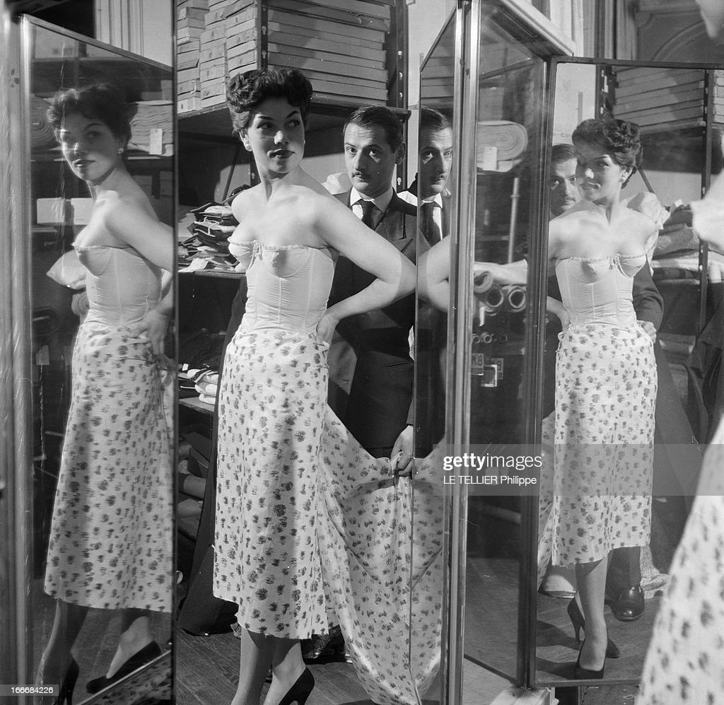 Lingerie In 1956 : News Photo