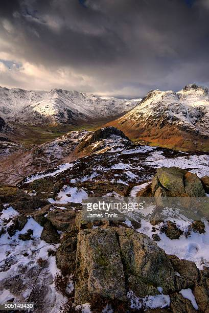 Lingmoor Fell and Side Pike, the Langdale Pikes, Cumbria, Lake District National Park