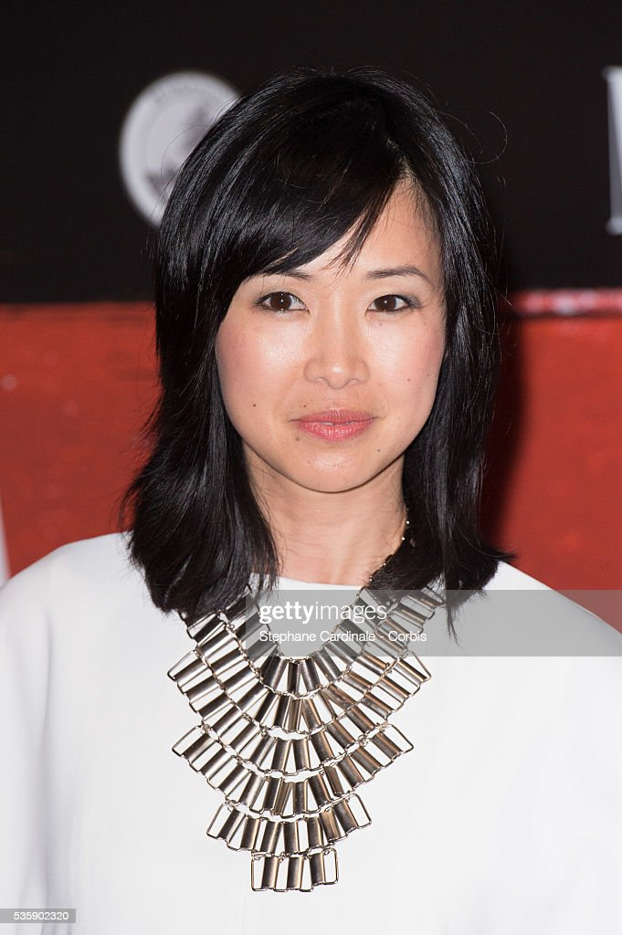 Linh-Dan Pham attends the 'Malavita' premiere at Europacorp Cinemas at Aeroville Shopping Center, in Roissy-en-France, France.