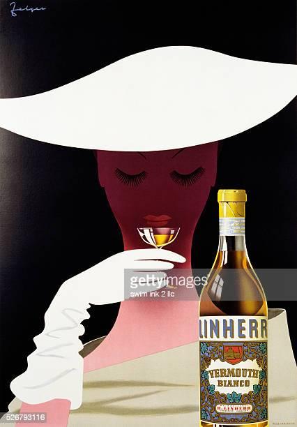 Linherr Vermouth Poster by Arthur Zelger