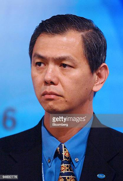 Link Corp Senior Vice President and Chief Technology Officer AJ Wang is pictured during a session titled The Future Digital Home Evolving from Simple...
