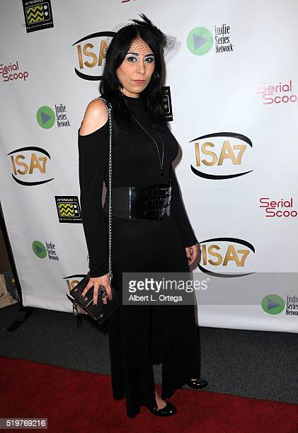 Linka Hovasapian at the 7th Annual Indie Series Awards held at El Portal Theatre on April 6 2016 in North Hollywood California