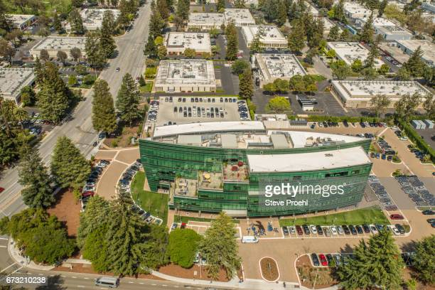 linkedin headquarters building - headquarters stock pictures, royalty-free photos & images