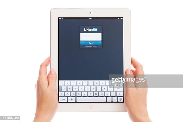 LinkedIn sur iPad