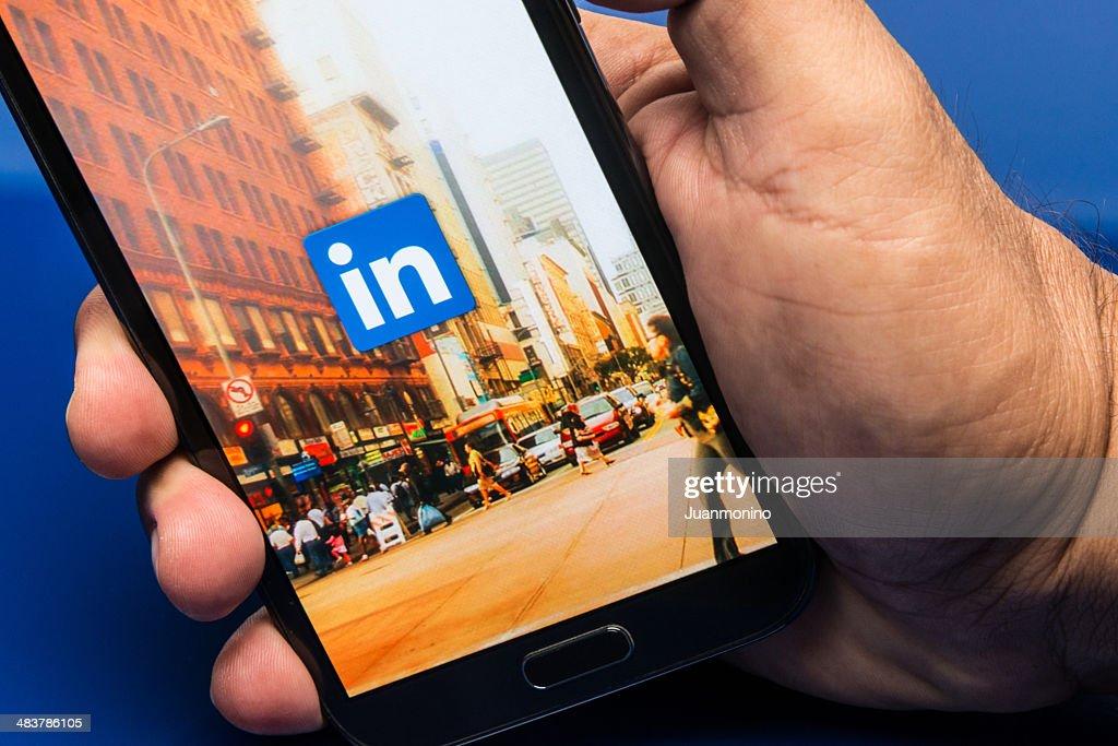 Linkedin : Foto de stock