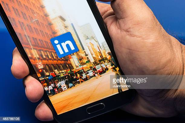 linkedin - editorial stock pictures, royalty-free photos & images