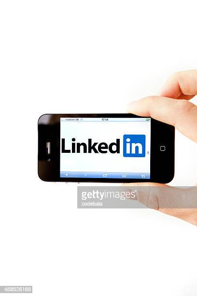Linkedin Professional Social Network on Iphone 4
