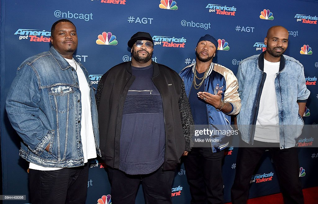 Linkin' Bridge attends the 'America's Got Talent' Season 11 Live Show at Dolby Theatre on August 23, 2016 in Hollywood, California.