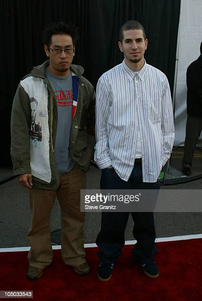 Linkin Park during The 30th Annual American Music Awards Arrivals at Shrine Auditorium in Los Angeles California United States