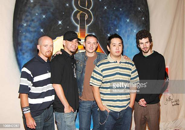 Linkin Park during Will Smith Celebrates LIVE 8 with a PreLaunch Party in his Hometown of Philadelphia at The 23rd Street Armory in Philadelphia...