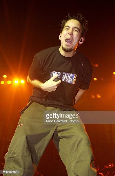 Linkin Park performs at Brixton Academy in London
