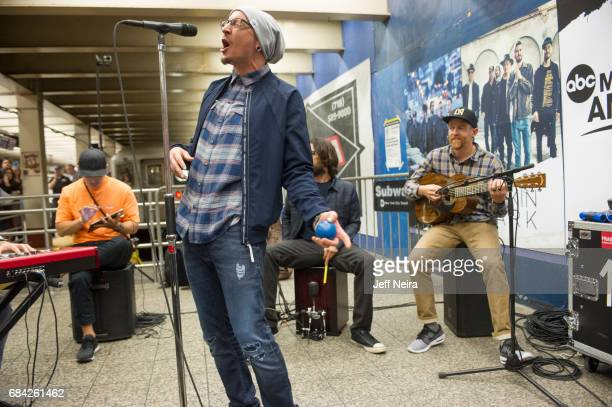 Linkin Park performs at Grand Central Station on ABC's 'Good Morning America' airing Thursday May 18 2017 Good Morning America airs MondayFriday on...