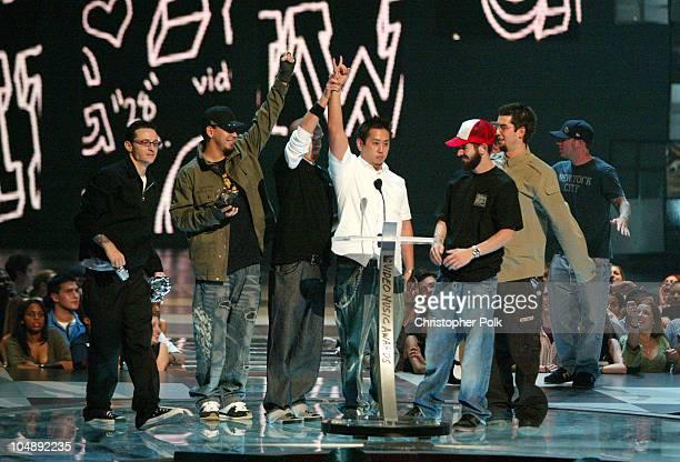 Linkin Park winner of Best Rock Video at the 2003 MTV Video Music Awards