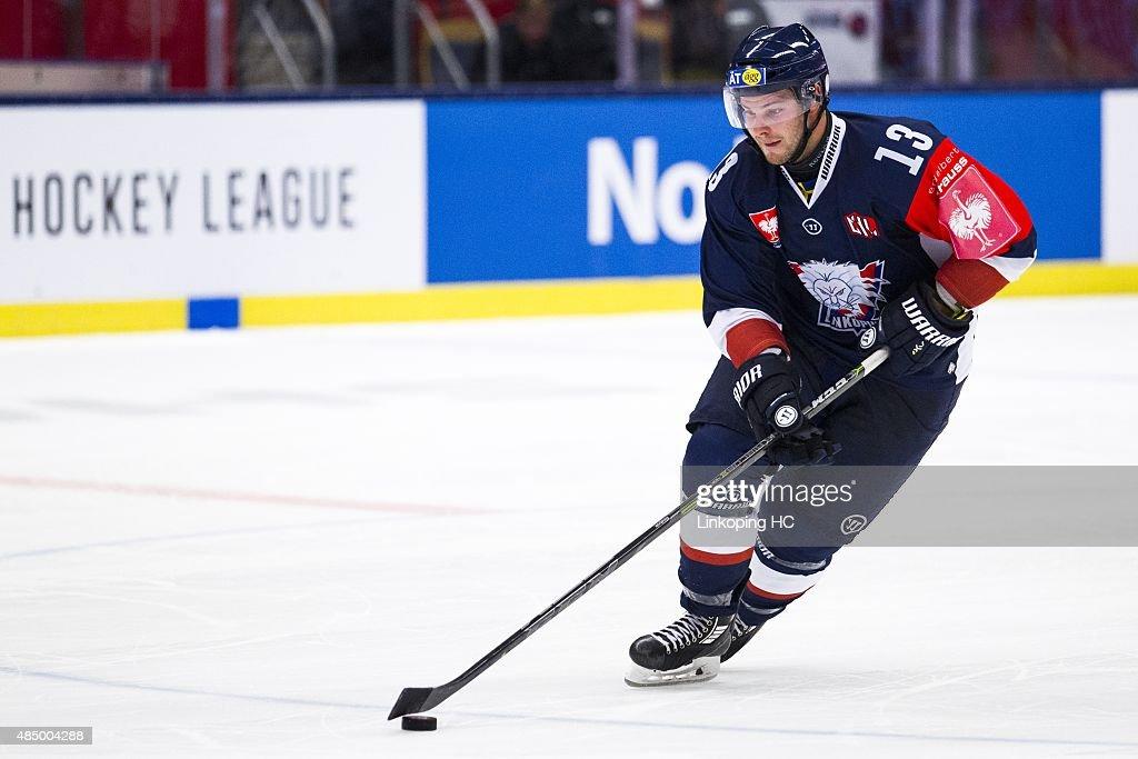 Linkoping HC v SC Bern - Champions Hockey League : News Photo